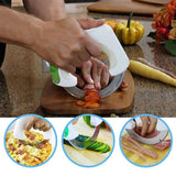 Innovative Rolling Kitchen Knife