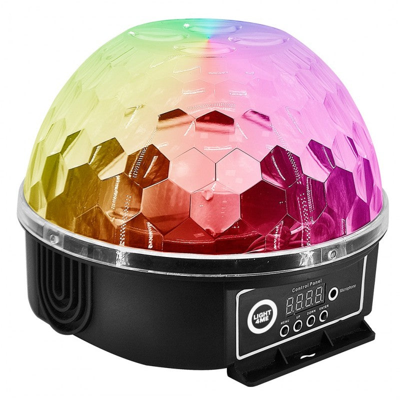 Crystal ball stage lamp