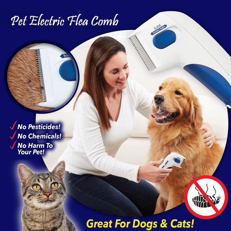 Pet Electric Flea Comb
