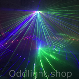 6 Lens Scan Laser Line Beam Stage Light