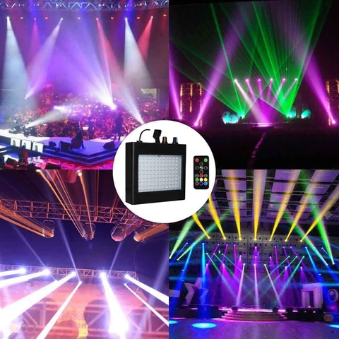 108 LEDs Sound Activated Par Stage Light