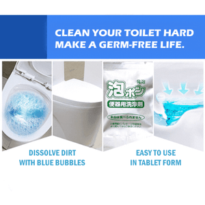 Toilet Bubble Bomb Cleaner