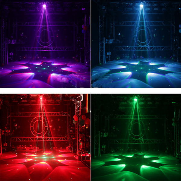 Six Bee-eye Laser Line Stage Light