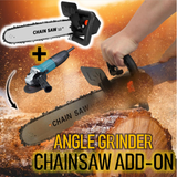 Angle Grinder Chainsaw Add-On