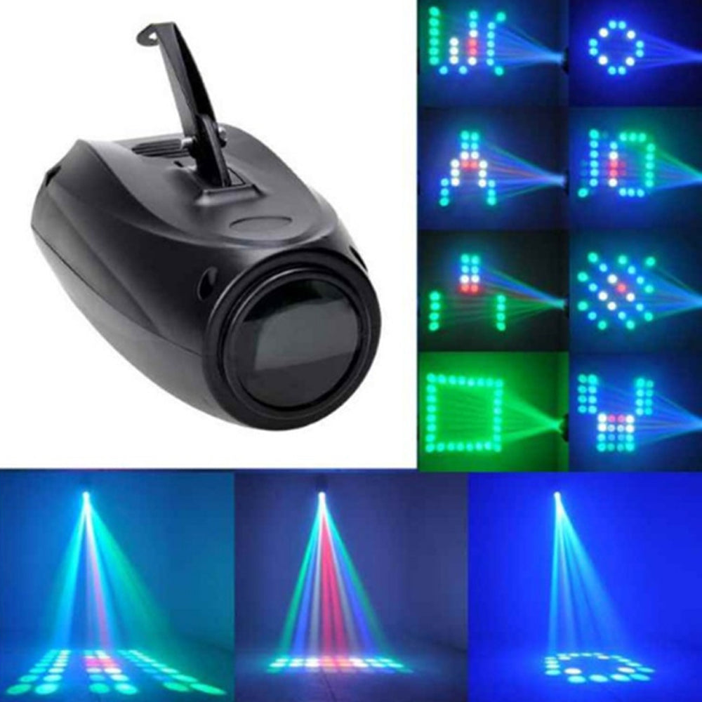 64 pcs RGBW LED Airship Light