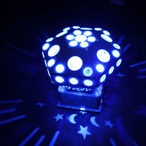 3 in 1 Laser/Pattern/Butterfly Effect Light