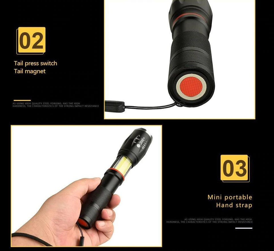 Handheld Tactical Flashlight