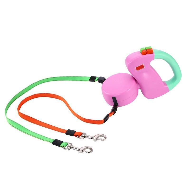 Duo-Rollin' Leash for Dogs