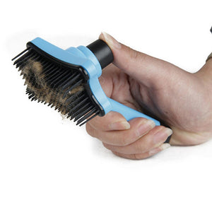 Easy-Cleaning Cat Grooming Brush