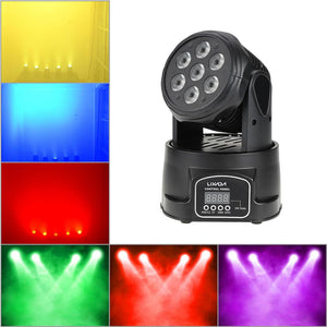 70W 4 In 1 RGBW Moving Head LED Stage Lamp - RollingStar
