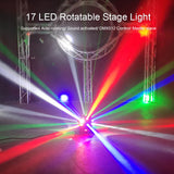 80W 17 LED Beam Stage Light
