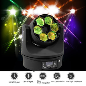6 Bee Eyes Beam Stage Light