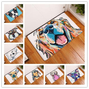 Dog Art Floor Mat