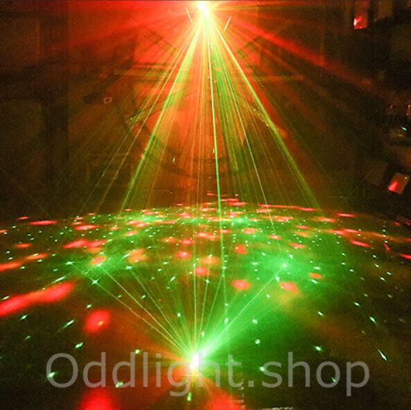 2019 NEW 4 in 1 Pattern/ Laser/ Strobe/ Magic Ball Stage Light