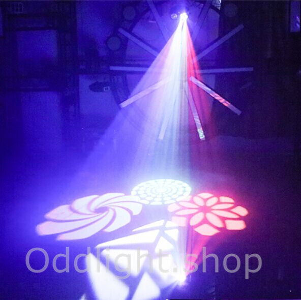 NEW 4 in 1 Pattern/ Laser/ Strobe/ Magic Ball Stage Light
