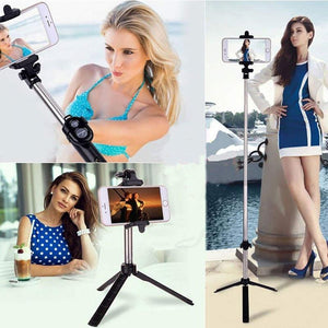 3-in-1 Wireless Selfie Stick