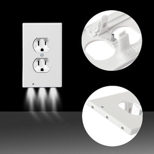 LED Wall Outlet Guide Light