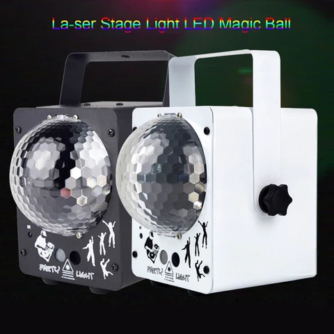 60 Patterns Laser & Magic Ball Light