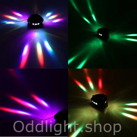 120W 9 LED Rotatable Stage Beam Lamp