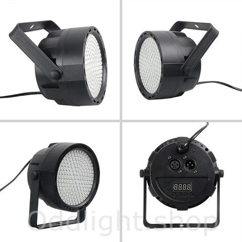169 LEDs RGB Colorful Par Stage Light