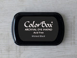 Wicked Black ColorBox Archival Dye Ink Pad