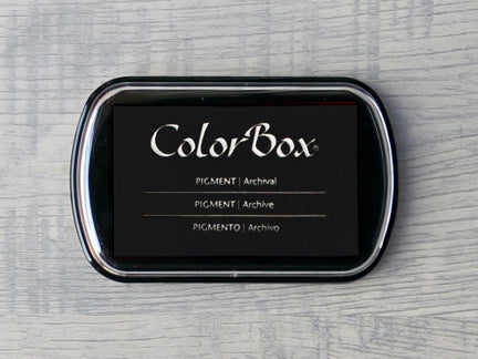 Black ColorBox Archival Pigment Ink Pad