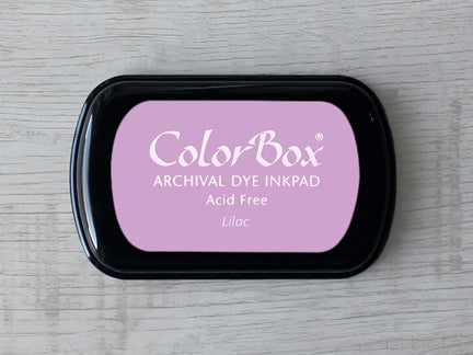 Lilac ColorBox Archival Dye Ink Pad