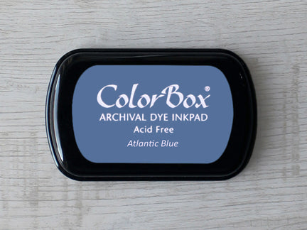 Atlantic Blue ColorBox Archival Dye Ink Pad
