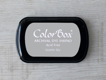 Seattle Sky ColorBox Archival Dye Ink Pad