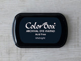 Midnight ColorBox Archival Dye Ink Pad