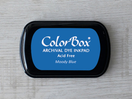 Moody Blue ColorBox Archival Dye Ink Pad