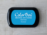 Poolside ColorBox Archival Dye Ink Pad