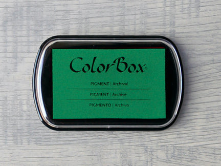 Green ColorBox Archival Pigment Ink Pad