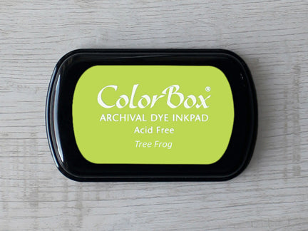 Tree Frog ColorBox Archival Dye Ink Pad