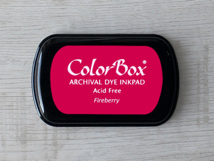 Fireberry ColorBox Archival Dye Ink Pad