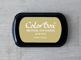 Khaki Green ColorBox Archival Dye Ink Pad