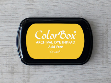 Squash ColorBox Archival Dye Ink Pad
