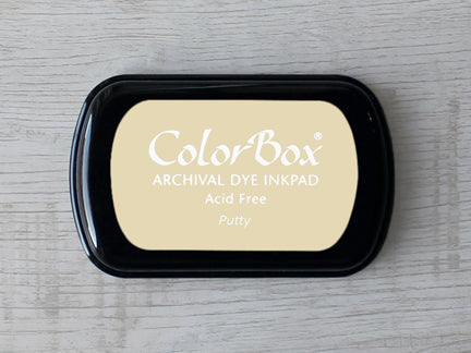 Putty ColorBox Archival Dye Ink Pad