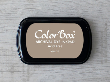 Suede ColorBox Archival Dye Ink Pad