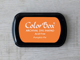 Pumpkin Pie ColorBox Archival Dye Ink Pad