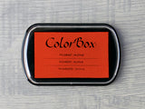 Orange ColorBox Archival Pigment Ink Pad