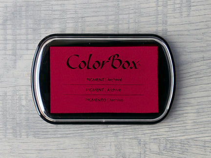 Ruby ColorBox Archival Pigment Ink Pad
