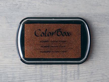 Copper ColorBox Metallic Archival Pigment Ink Pad