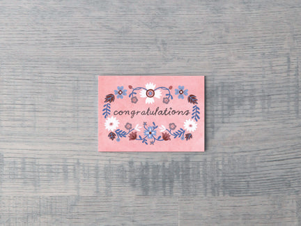 Congratulations Eva Enclosure Card