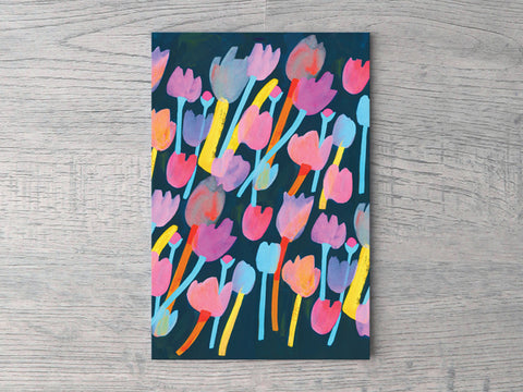 Leanne Tulips Notecard