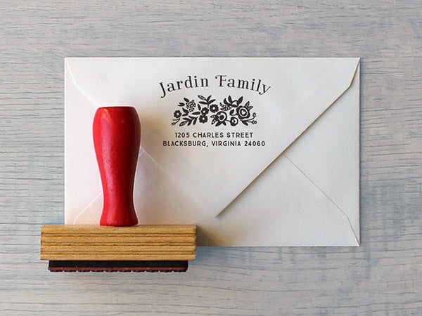 Jardin Custom Stamp