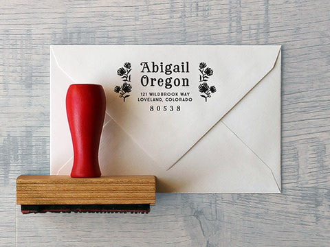 Oregon Custom Stamp