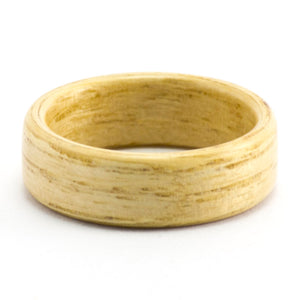 Size 8 Ash Bentwood Ring