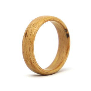 Size 8 Beech Bentwood Wedding Band