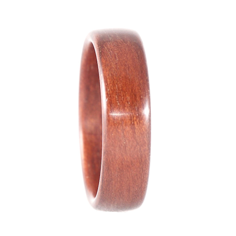 A bloodwood bentwood ring.